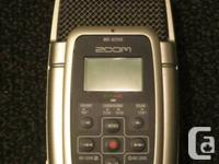 This is well-used but well cared-for Zoom H2 portable