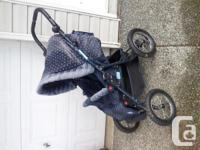 $50 obo All terrain 4 wheel Zooper stroller -tires in
