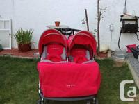 Zooper double stroller . Excellent shape very little
