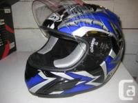 Two Zox helmets to choose from. Both are full face, and
