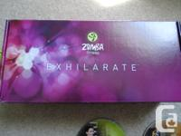 ZUMBA Exercise kit for sale 5 DVD's. You get everything